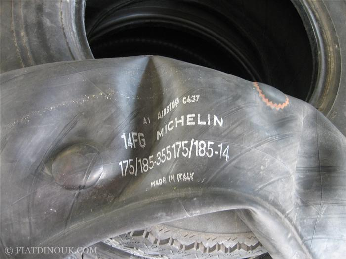 Original Michelin inner tube