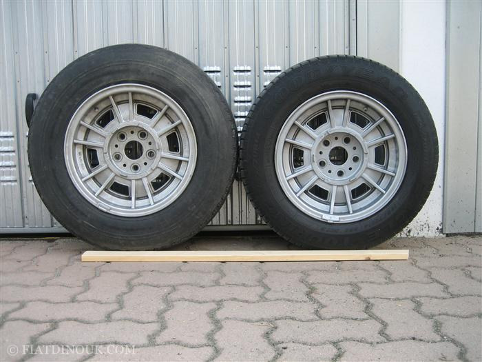 Goodyear and Michelin XAS tyres