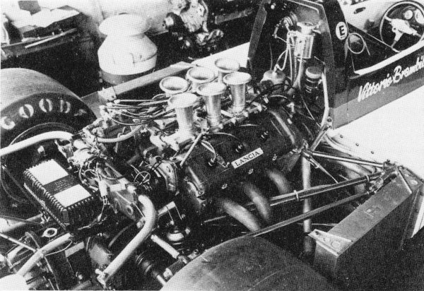 March F2 with the V6 DINO Ferrari engine