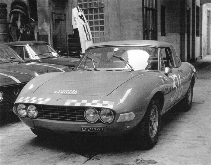 Fiat Dino Spider of Piero Botalla