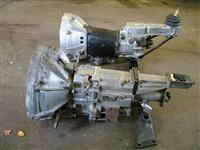 Side view of Fiat Type 135 AC 100 and ZF gearboxes.