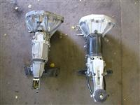 Top view of Fiat Type 135 AC 100 and ZF gearboxes.